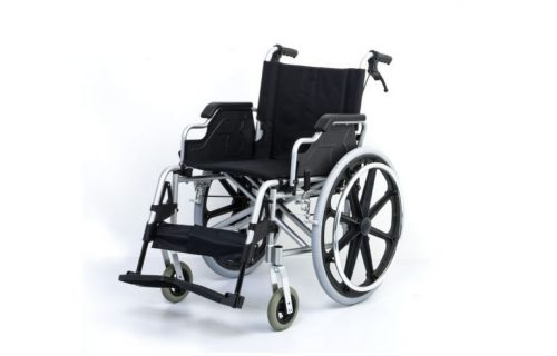 WheelChair -Allum_Nylon, Ligfhtweight ,detachable arm and foot rests